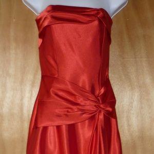 Jessica McClintock Strapless Evening Gown